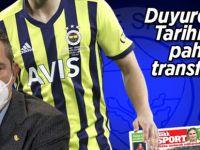 Fenerbahçe'ye piyango! Tarihin en pahalı futbolcusu olacak...