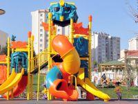 Tuzla'da çocuk parklarını polis koruyor