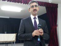 Genel Müdür Yılmaz Ömer Çam'da öğrencilerle Arapça konuştu