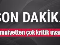 Emniyet'ten son dakika 'Öcalan' uyarısı!