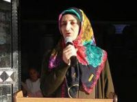 Şehit Yalçın Aran'ın eşi konuşunca davetliler ve öğrenciler gözyaşlarını tutamadı