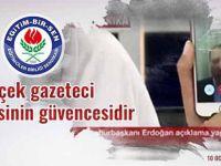 Eğitim Bir-Sen 10 Ocak Gazeteciler Günü'nü kutladı!