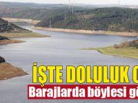 İşte İstanbul'daki barajların doluluk oranı!