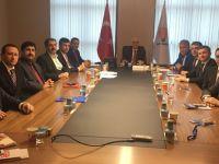 AK Parti İstanbul İlçe Başkanlarından Kaya'ya ziyaret!