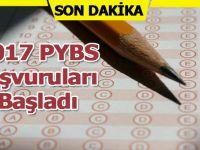 2017 PYBS Bursluluk Sınav Başvuruları Başladı