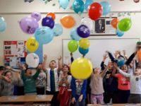 Bu okuldan Suriye'ye 1 tır dolusu un gitti!