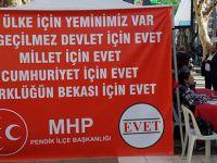 """MHP Başkanı Yüksel Cebe, """"Bu ülke için yeminimiz var!"""""""