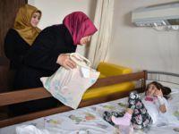 Tedavi gören çocuklarda 23 Nisan Coşkusu'nu yaşadı