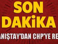 Danıştay'dan CHP'ye kötü haber