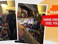 Emine Erdoğan'ın özel yolculuğu gören şaşırdı!