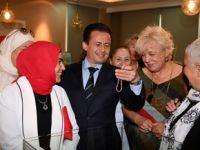 Tuzla'lı kadınların el emeği göznuru eserleri ziyarete açıldı!