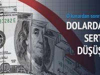 Dolar 3.50'nin altına geriledi