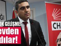 CHP Pendik İlçe Başkanı görevden alındı!