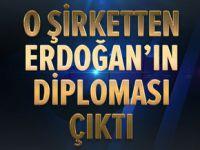 Maden'den Erdoğan'ın diploması çıktı