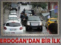 Cumhurbaşkanı Erdoğan'ın ilk kez kullandığı güzergah