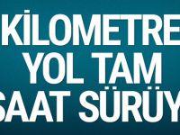 Bayram trafiği son durum fena Bolu, Çanakkale, Bodrum kilit!