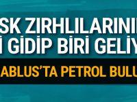 Cerablus'ta petrol bulundu TSK zırhlıları...