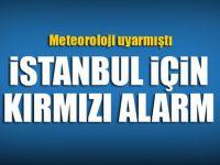 Son Dakika: Meteoroloji İstanbul'u uyarmıştı! Başladı...