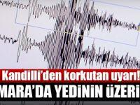 Son dakika: Kandilli'den İstanbul için korkutan deprem açıklaması