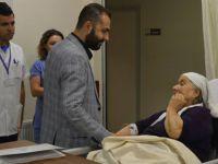 Hüdaverdi Kul'dan hastalara bayram ziyareti