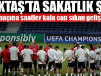 Beşiktaş'a sakatlık şoku!