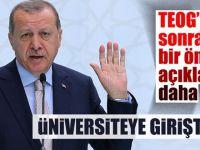 Cumhurbaşkanı Erdoğan'dan  çok önemli açıklama!