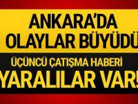 Ankara'da silahlı çatışma! Şehit haberi var