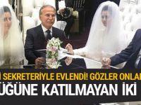 AK Partili Mehmet Ali Şahin evlendi!
