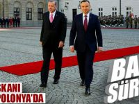 Son dakika: Cumhurbaşkanı Erdoğan'a Polonya'da bando sürprizi!