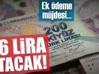 Gelirler 346 lira artacak!