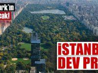 İstanbul'a dev proje: Central Park'ın 3 katı büyüklüğünde olacak