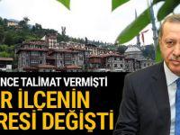 Cumhurbaşkanı Erdoğan istedi, çehresi değişti