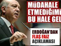 Cumhurbaşkanı Erdoğan'dan flaş Merkez Bankası açıklaması