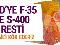 ABD'nin S-400 tehdidine Türkiye'den karşı hamle: Körleştiririz