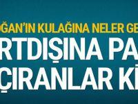 """Erdoğan'ın """"kulağına gelenler"""" neler? Yurtdışına kimler para kaçırıyor?"""