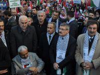 Pendik'te Kudüs Protestosu