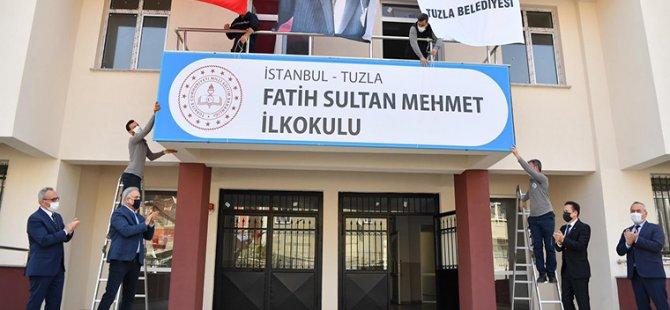 Tuzla'ya İki Yeni Okul