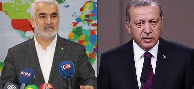 Başkan Erdoğan'dan yeni genel başkana tebrik