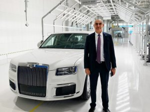 Rusya'nın İlk Lüks Segment Aracının Gövde Parçaları Türk Üreticiden