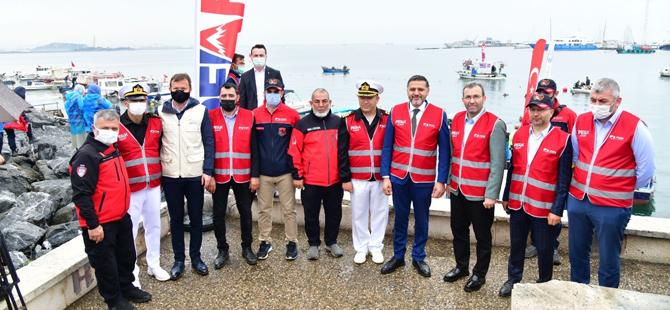 Marmara Denizi için Pendik'te seferberlik
