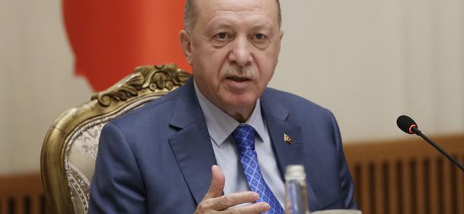 Erdoğan'dan dev projenin açılışında önemli mesaj!