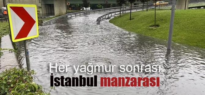 İstanbul yine sular altında!