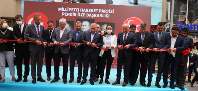 MHP Pendik İlçe Teşkilatı'ndan coşkulu açılış