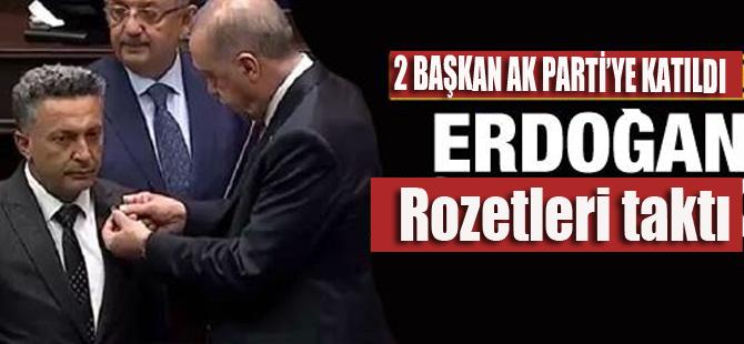 2 Belediye Başkanı AK Parti'ye katıldı