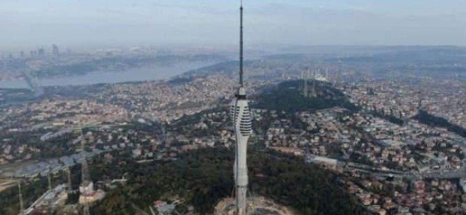 Çamlıca Kulesi'ne Rekor Ziyaretçi