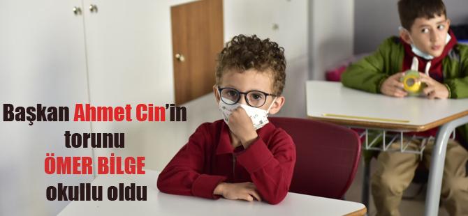 Ahmet Cin'in torunu Ömer Bilge okullu oldu