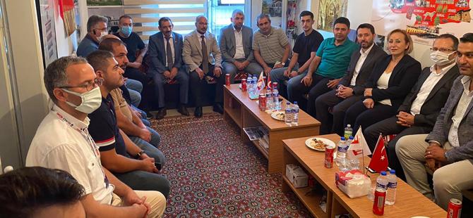 AK Parti'nin atom karıncası Osman Boyraz Sivaslılar Derneği'ndeydi