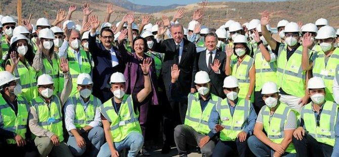 Cumhurbaşkanı Erdoğan Nükleer Santrali Ziyaret Etti