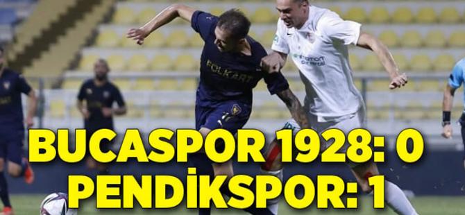 Pendikspor, İzmir'den de 3 puan çıkardı: 0-1