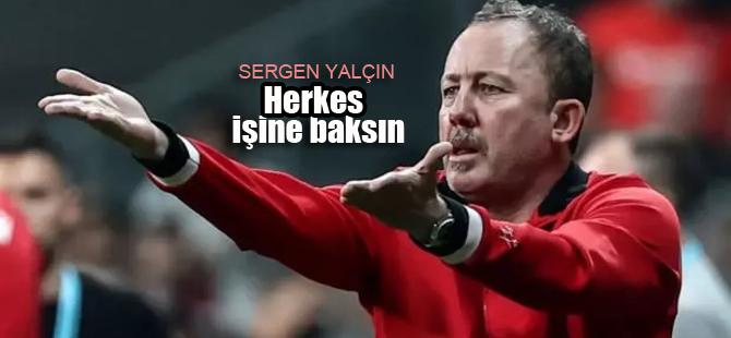 Sergen Yalçın'dan Fenerbahçe Teknik Direktörü'ne sert sözler
